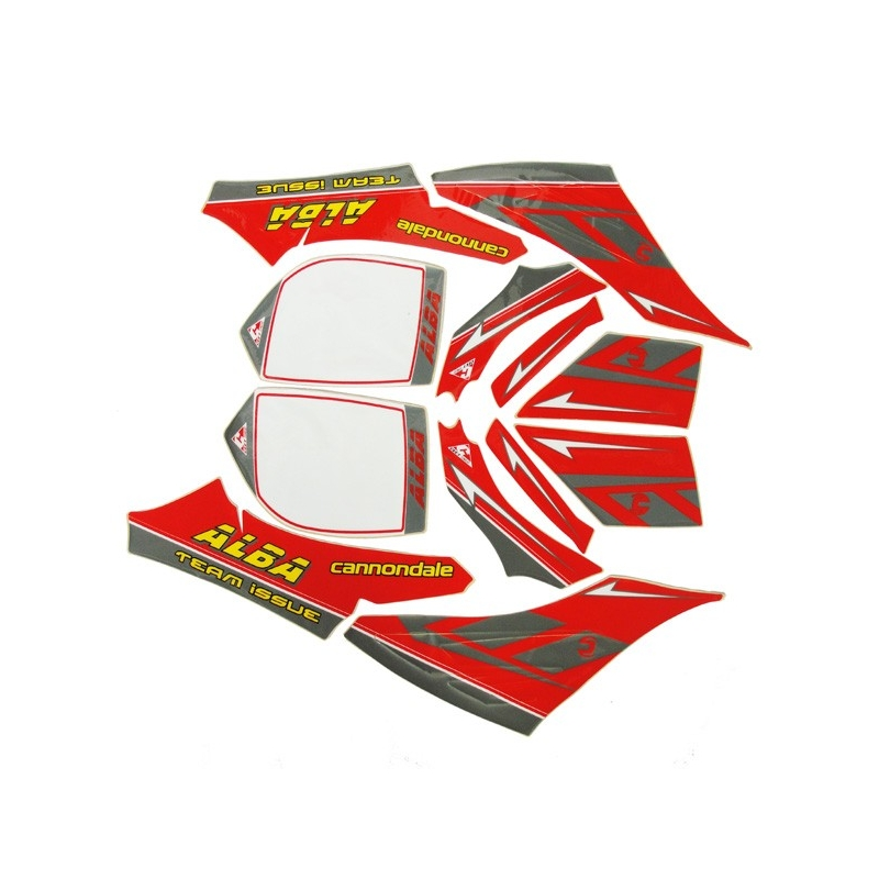 Cannondale Blaze ALBA Team Issue Decal Kit